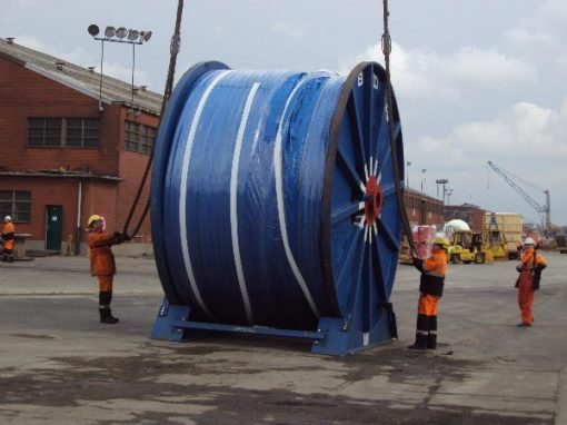 Newcastle UK to Singapore – Cable Reel