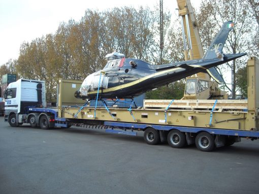 UK to Mexico – Shipping a Helicopter