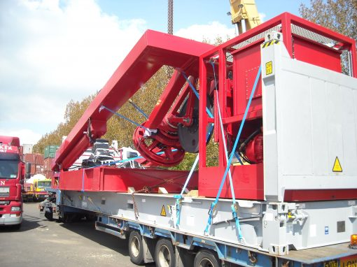 UK to Singapore – Remotely Operated Vehicle (ROV)