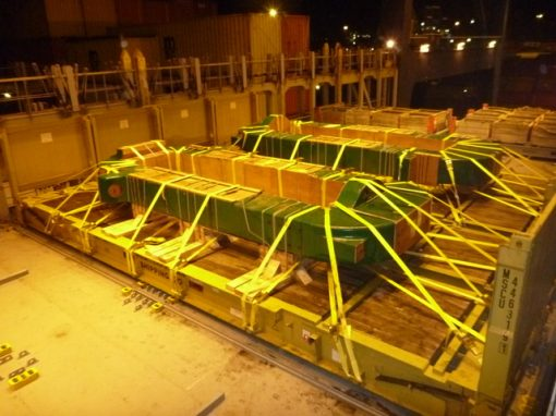 UK to Mexico – 2 Heavy Steel Castings