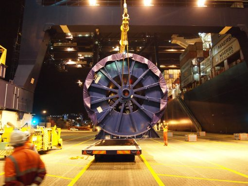 UK to Singapore – Cable Drum