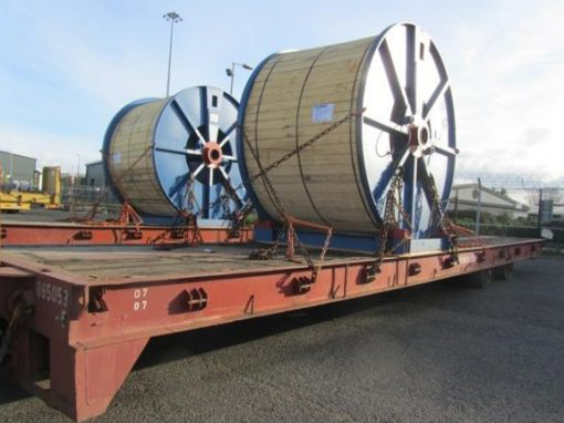 UK to Canada – 5 Cable Reels