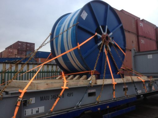 UK to Singapore – Cable Reel