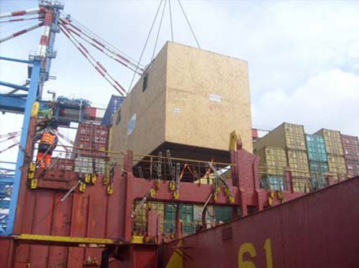 Italy to Mexico – Wooden Cases Holding Hot Oil Heaters