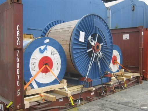 UK to U.A.E – 8 Cable Reels