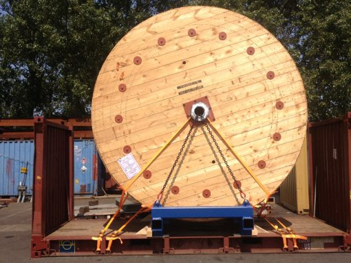 UK to USA – Cable Reel