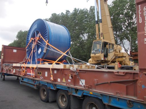 UK to Egypt – Cable Reel