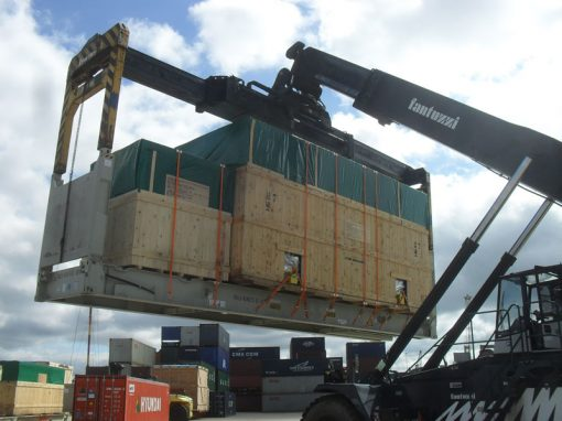 UK to Qatar – Cased Cargo Transport