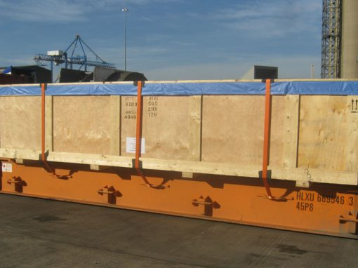 UK to Qatar – Crated Machinery