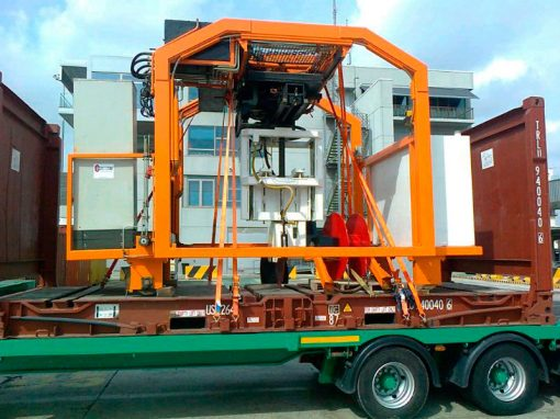 Spain to Mexico – HP Cutter Transport