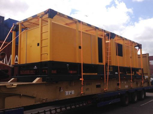 UK to South Africa – Steam Generator Transport