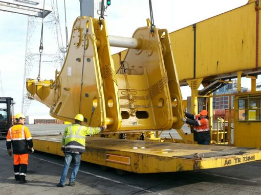 Belgium to Peru – 32 Pieces of Mining Equipment
