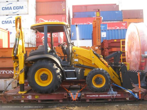 UK to Nigeria – Backhoe Loader