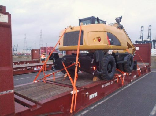 Belgium to Russia – 3 Excavators