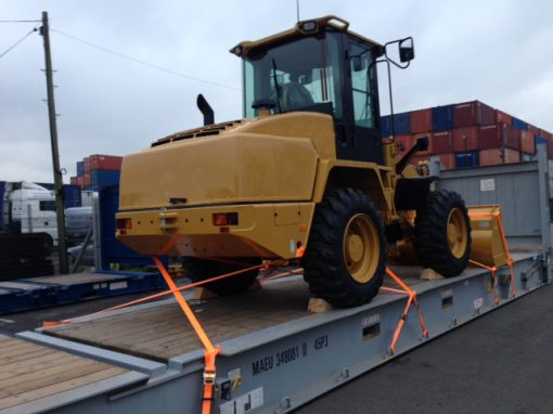 UK to Russia – Wheeled Loader