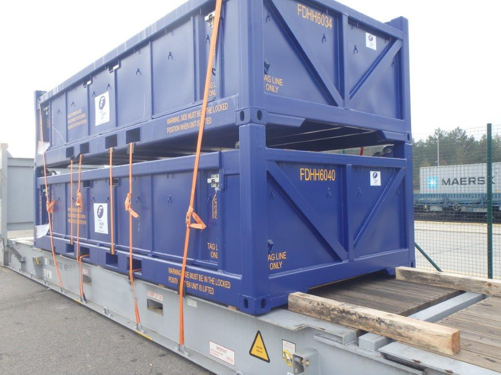 Poland to U.A.E – 30 Cargo Baskets