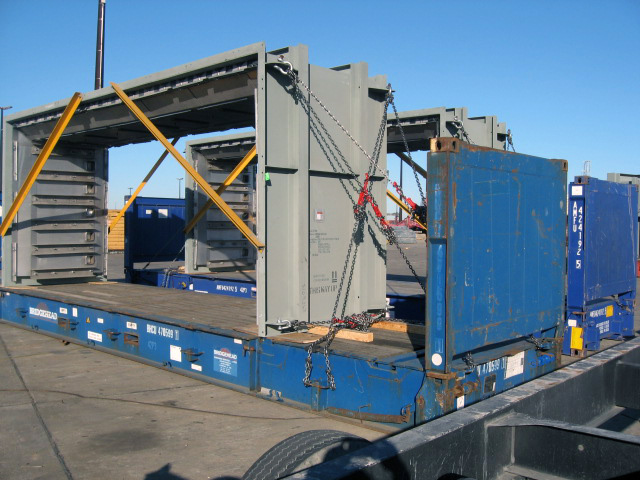 Mexico to UK – Machinery and Supporting Frames