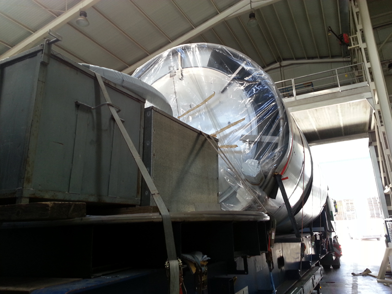 Spain to Dominican Republic – Stainless Steel Tank