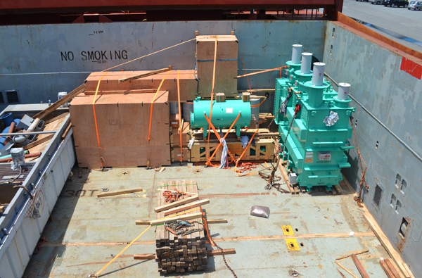 Japan to Mexico – Equipment for Transformer Repair
