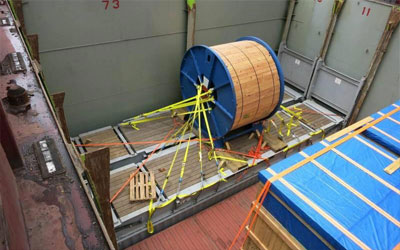 UK to Philippines – Cable Reel