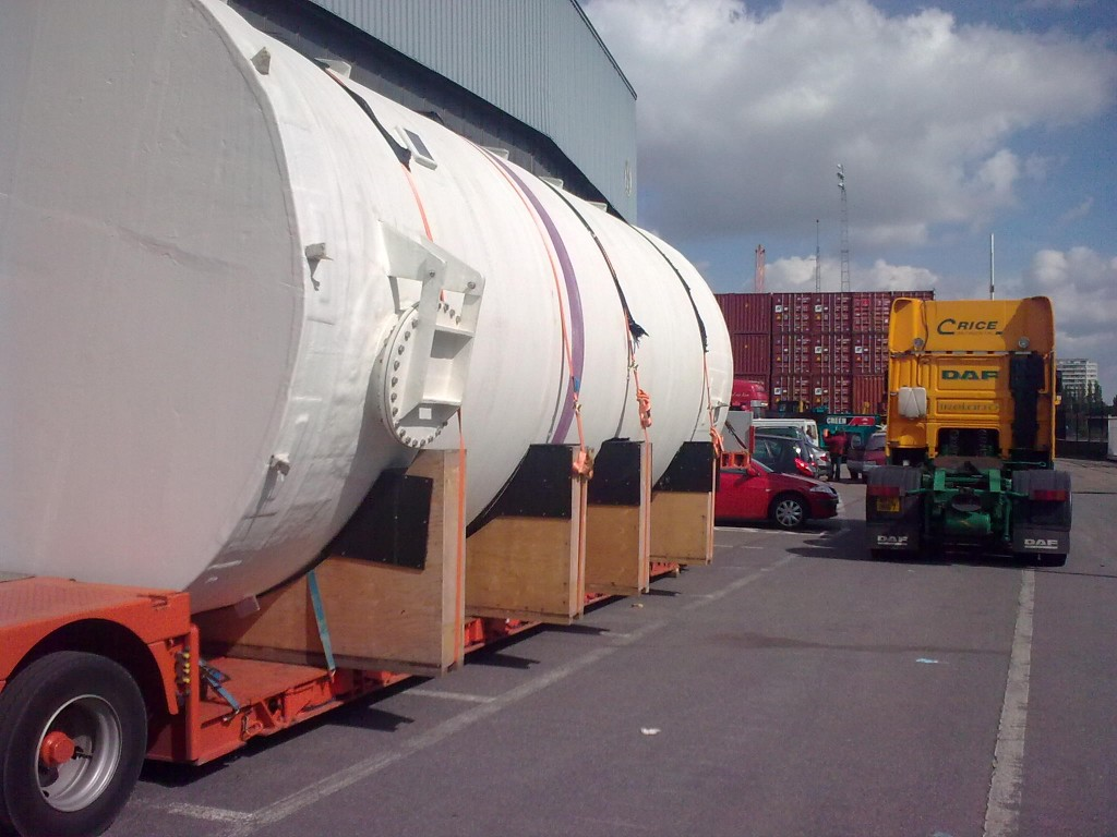 Northern Ireland to Libya – Hydraulic Acid Storage Tank