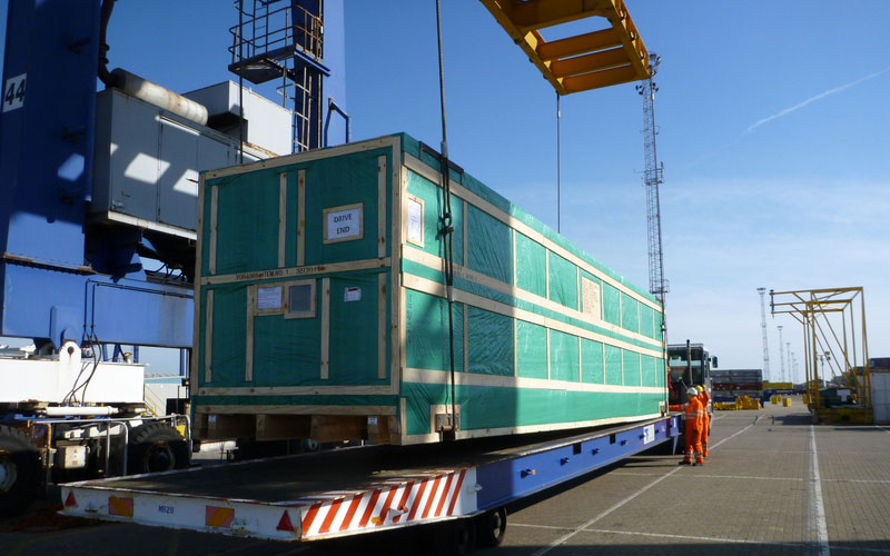 UK to Mexico – Slitter Case Transport