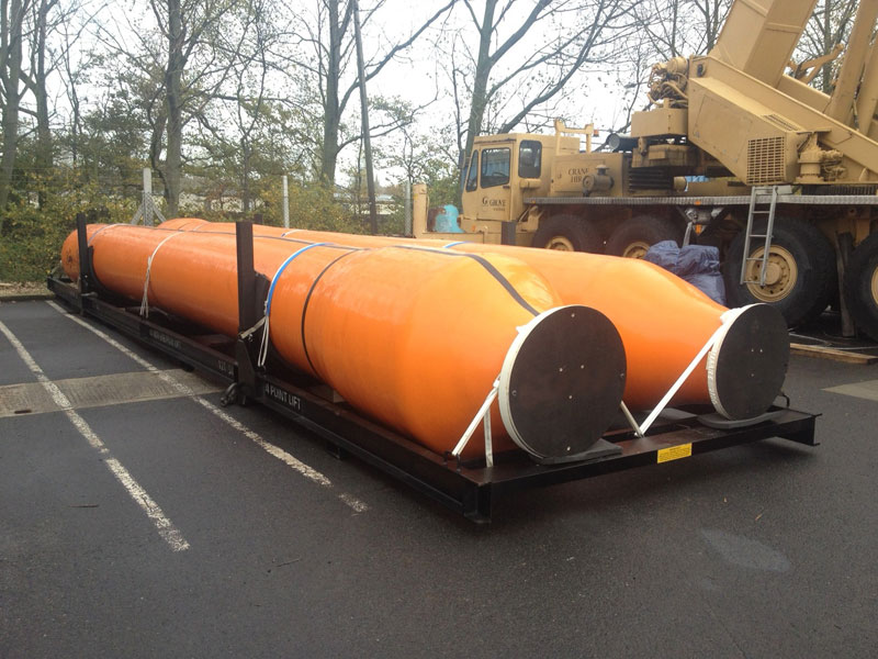UK to South Korea – Dredge Hose & Sleeves