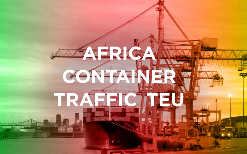 Africa Container Traffic TEU [INFOGRAPHIC]