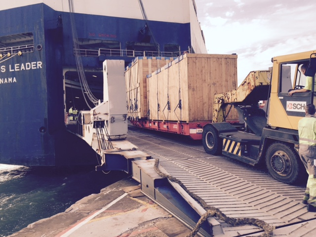 Newcastle UK to Sohar Oman: Heavy Machine Pumps