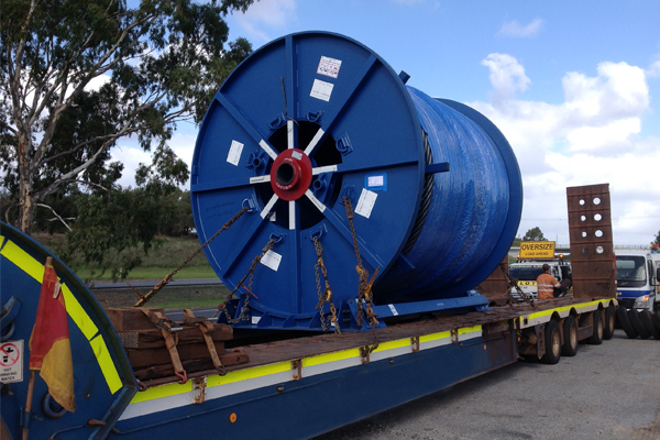 Breakbulk to Dampier – UK to Dampier Heavy Reel