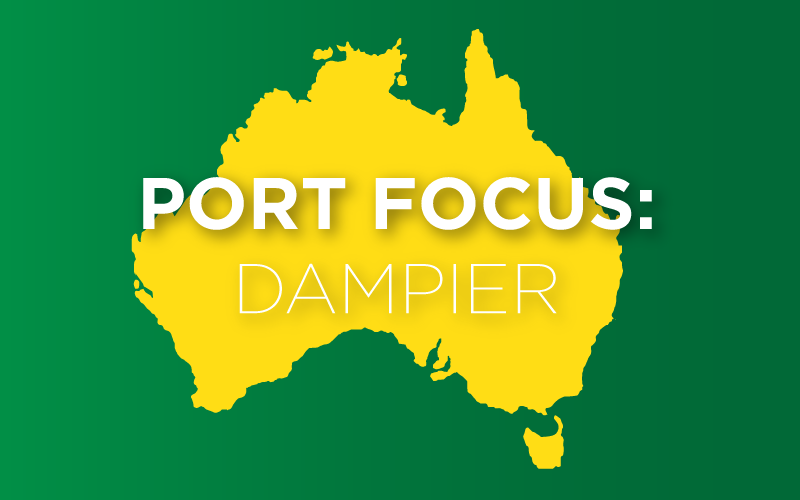 The Port of Dampier [INFOGRAPHIC]